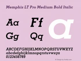 Memphis LT Pro Medium