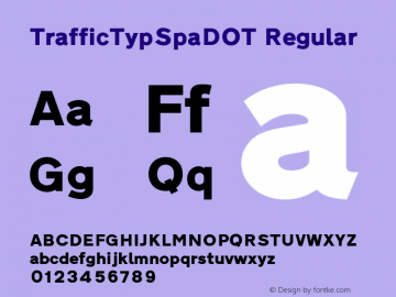 TrafficTypSpaDOT
