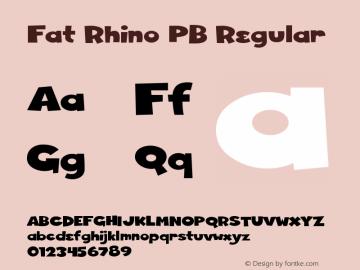 Fat Rhino PB
