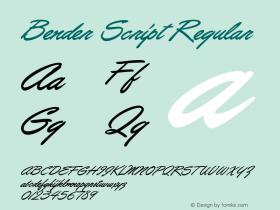 Bender Script