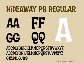 Hideaway PB