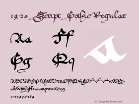 1420_Script_Gothic
