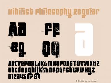 Nihilist Philosophy