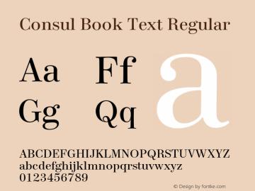 Consul Book Text