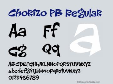 Chorizo PB