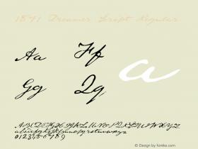 1871 Dreamer Script
