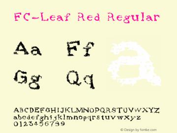 FC-Leaf Red