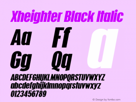 Xheighter Black