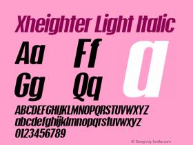 Xheighter Light