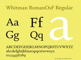 Whitman RomanOsF