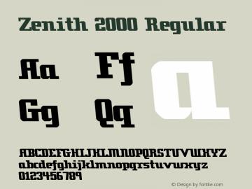 Zenith 2000
