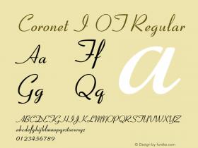 Coronet I OT