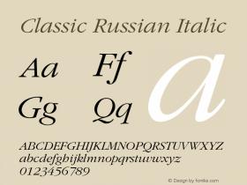 Classic Russian