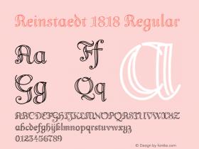 Reinstaedt 1818