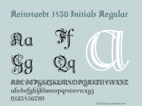 Reinstaedt 1430 Initials