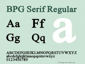 BPG Serif