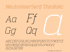NeutraliserSerif
