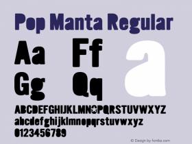 Pop Manta