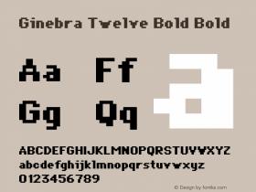 Ginebra Twelve Bold