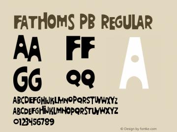 Fathoms PB