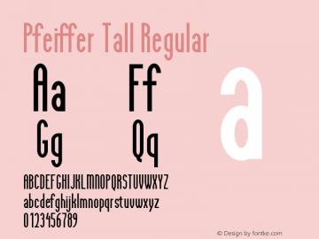 Pfeiffer Tall