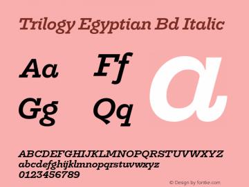Trilogy Egyptian Bd