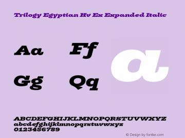 Trilogy Egyptian Hv Ex