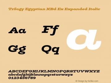 Trilogy Egyptian XBd Ex