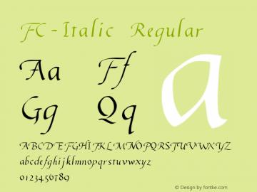FC-Italic