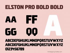 Elston Pro Bold