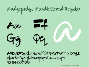 Hodgepodge Handlettered