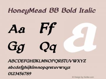 HoneyMead BB