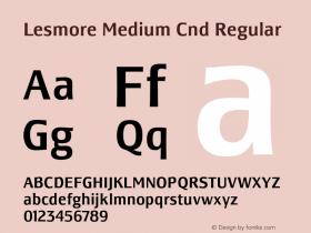Lesmore Medium Cnd