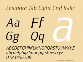 Lesmore Tab Light Cnd