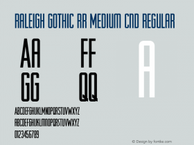 Raleigh Gothic RR Medium Cnd
