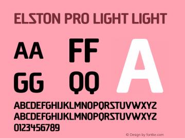 Elston Pro Light
