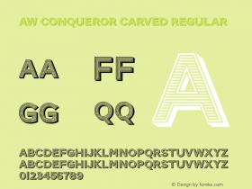 AW Conqueror Carved