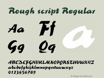 Rough Script