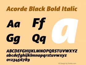 Acorde Black