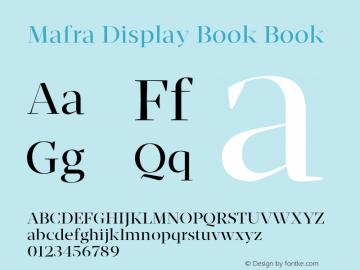 Mafra Display Book
