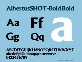 AlbertusSHOT-Bold