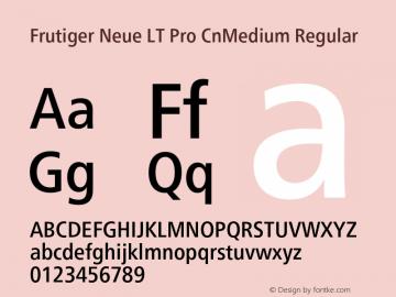 Frutiger Neue LT Pro Cn Book-Font Family Search-Fontke com For Mobile