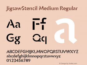 JigsawStencil Medium
