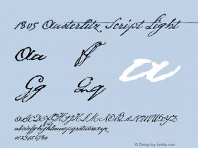 1805 Austerlitz Script