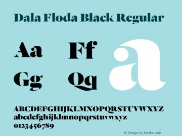 Dala Floda Black