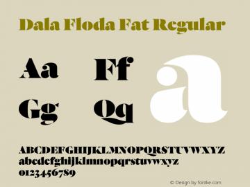 Dala Floda Fat