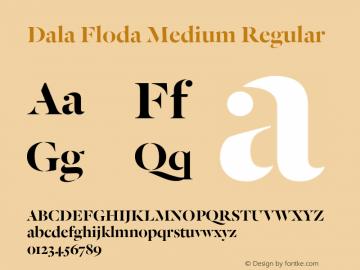 Dala Floda Medium
