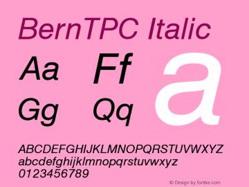 BernTPC