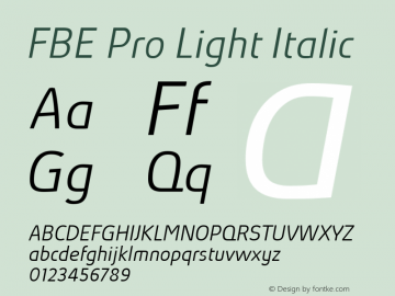 FBE Pro Light