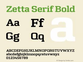 Zetta Serif